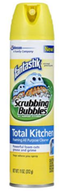 scrubbing bubbles