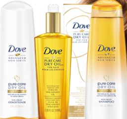 GRAIS muestra de Dove Pure Care Dry Oil | Súper Baratísimo