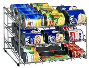 organizador de latas