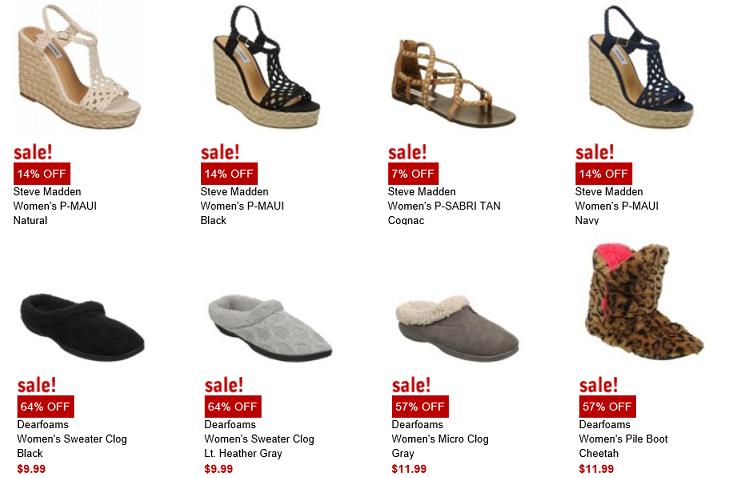 Famous Footwear 15% de descuento