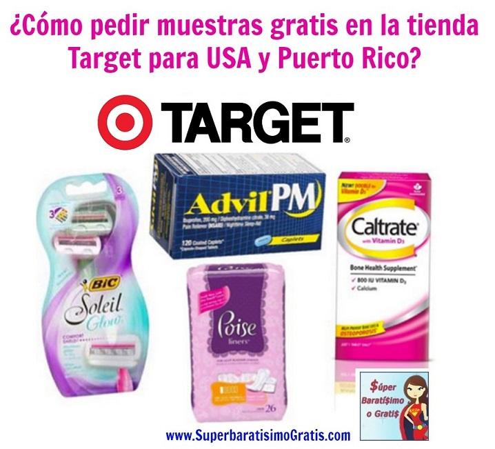 muestras gratis de Target