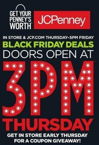 3f87652f9 ... 2016 súper baratísimo o GRATIS en Black Friday JCPenney  blackfriday. Las  tiendas JCPenney abre las puertas este jueves 26 de Noviembre a las 3 00 pm  ...
