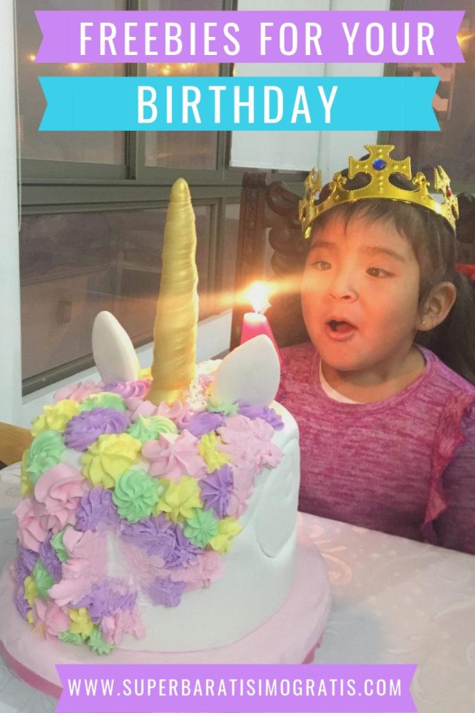 GRATIS por tu Cumpleaños