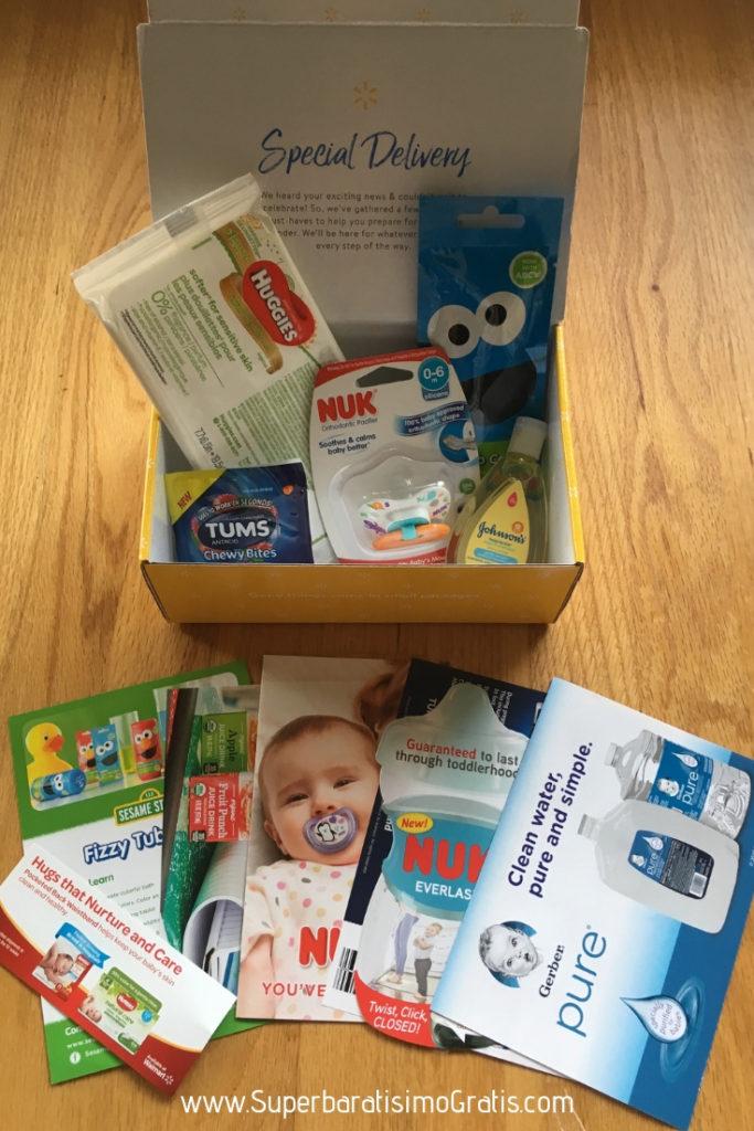 GRATIS muestras para bebé WELCOME BOX gracias a Walmart