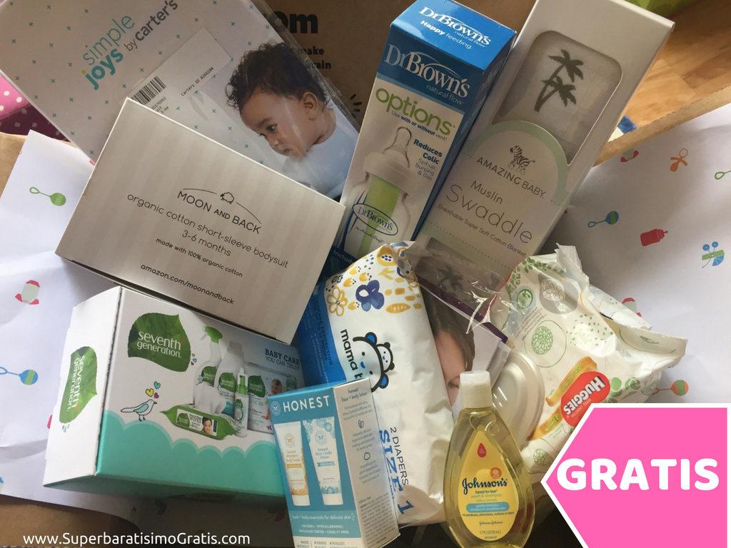 Amazon Baby Registry: GRATIS $35 en muestras para bebé
