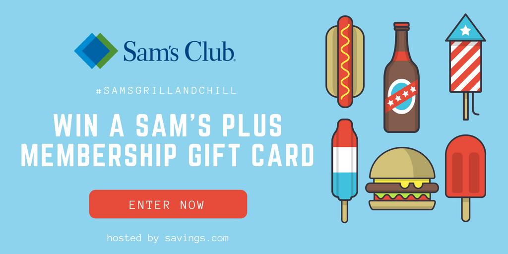 SORTEO $100 en tarjeta de Sam's Club