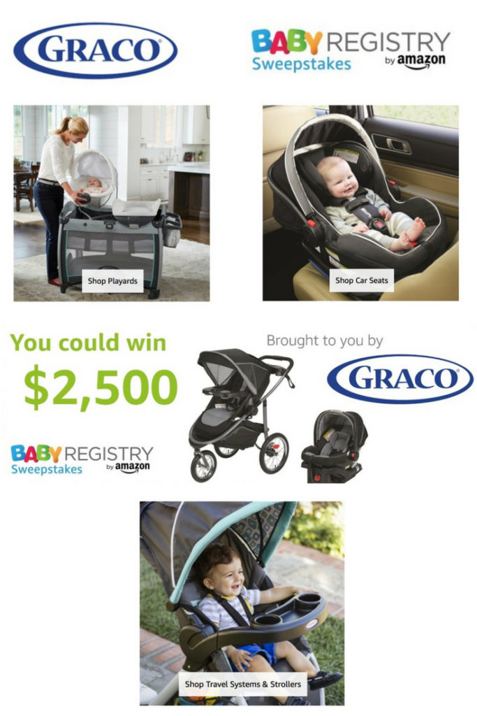 $2500 Amazon Baby Registry Graco Sweepstakes
