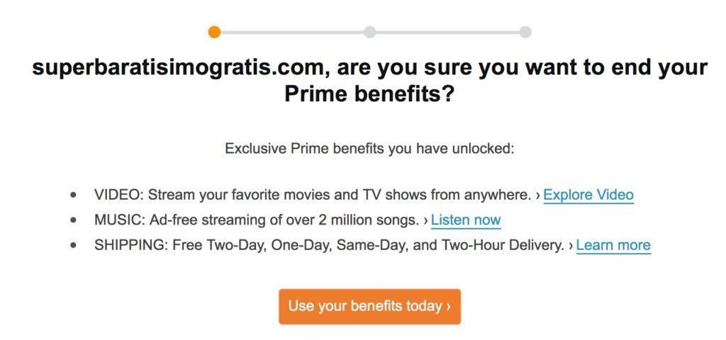 GRATIS 6 meses de membresía de Amazon Prime