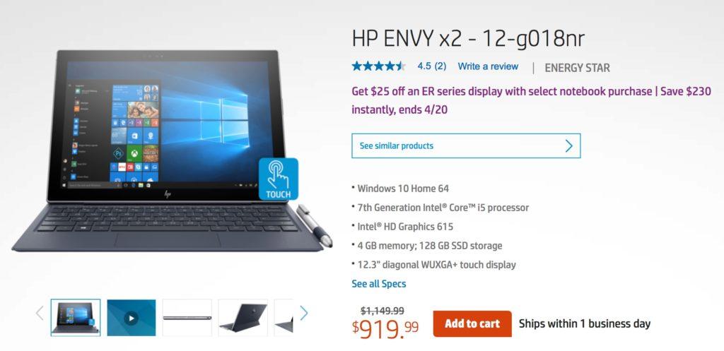 Descuentos en computadoras HP con ahorros hasta $800