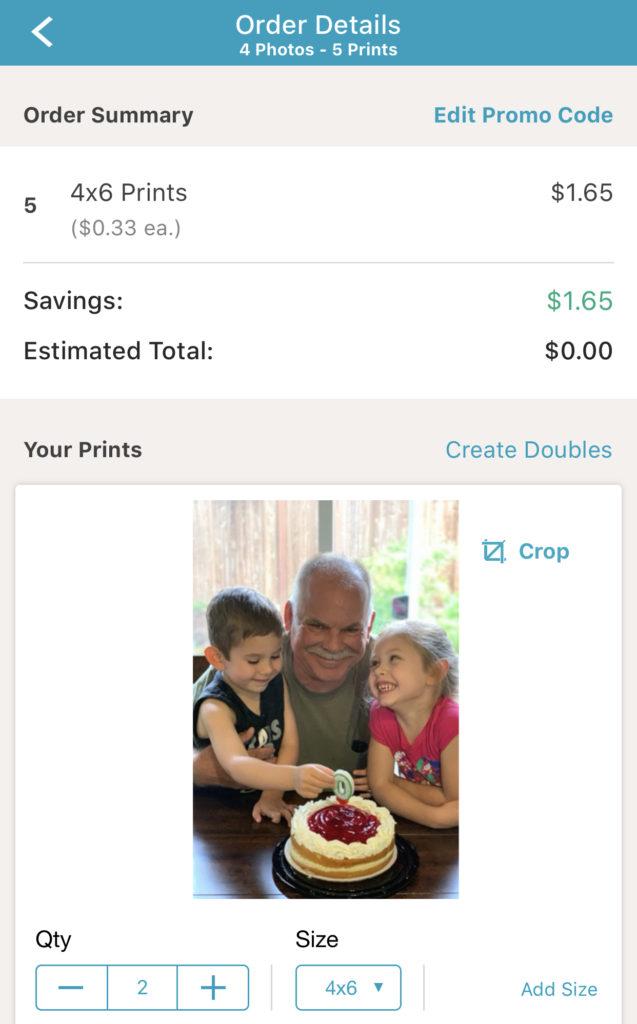 GRATIS 5 Foto 4x6 con la app de Walgreens