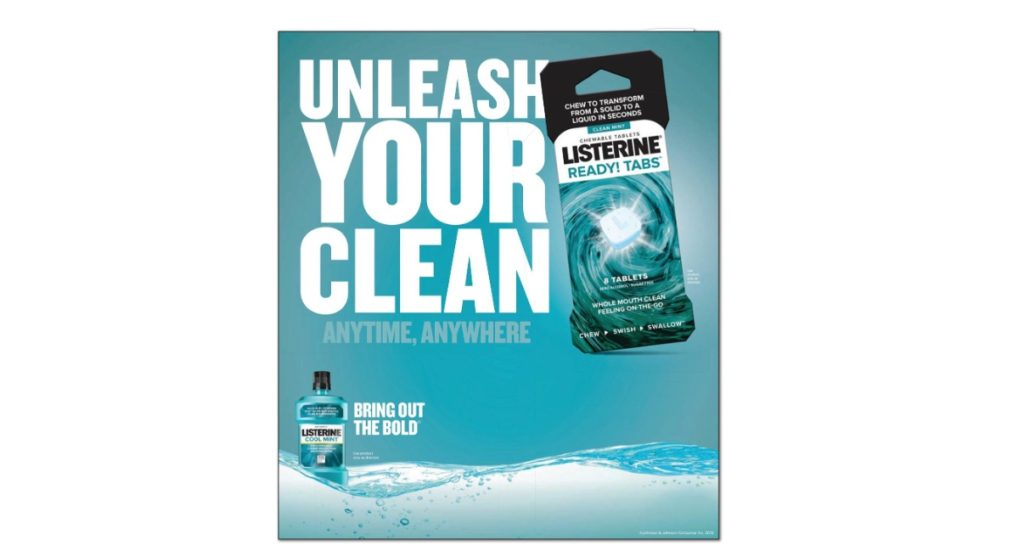FREE Listerine Ready Tabs