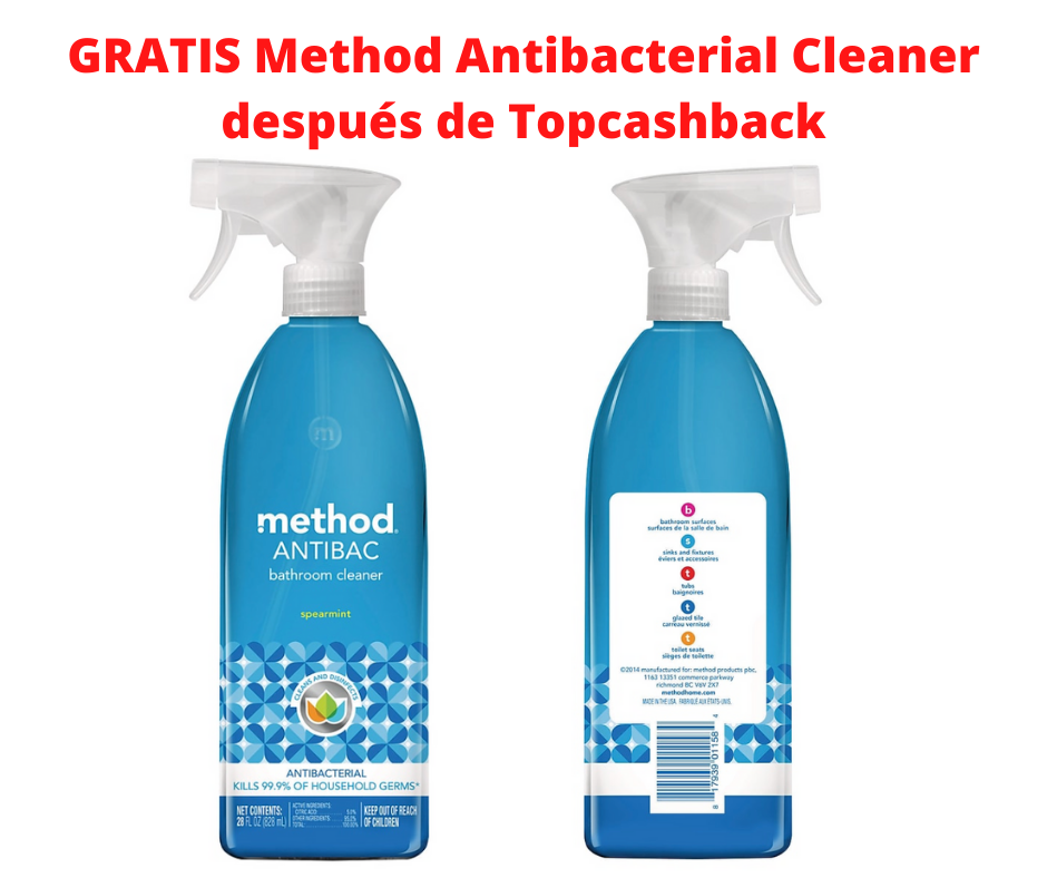 GRATIS Method Antibacterial Cleaning Spray