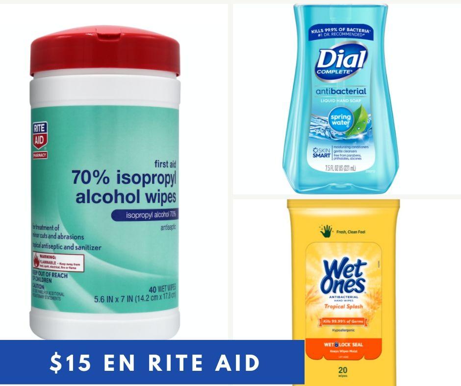 $15 Gratis en Rite Aid